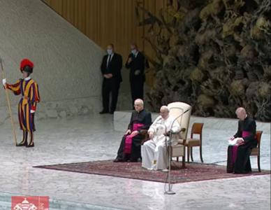 Papa Francisco: a verdadeira liberdade é plenamente expressa na caridade